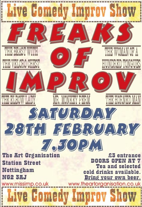 Freaks of Improv
