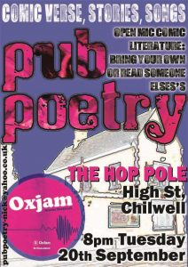 Hop Pole 20th Sep
