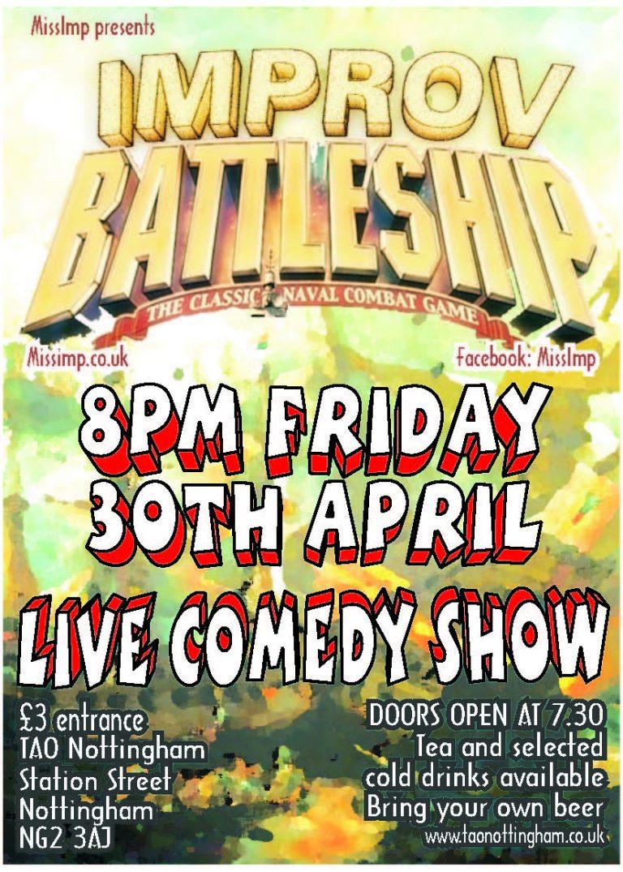 Improv Battleship poster