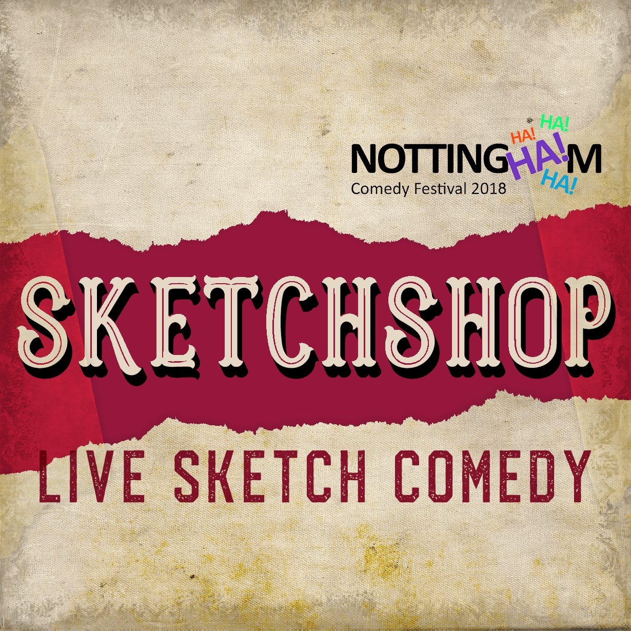 Sketchshop - Live Sketch Comedy at Nottingham Comedy Festival