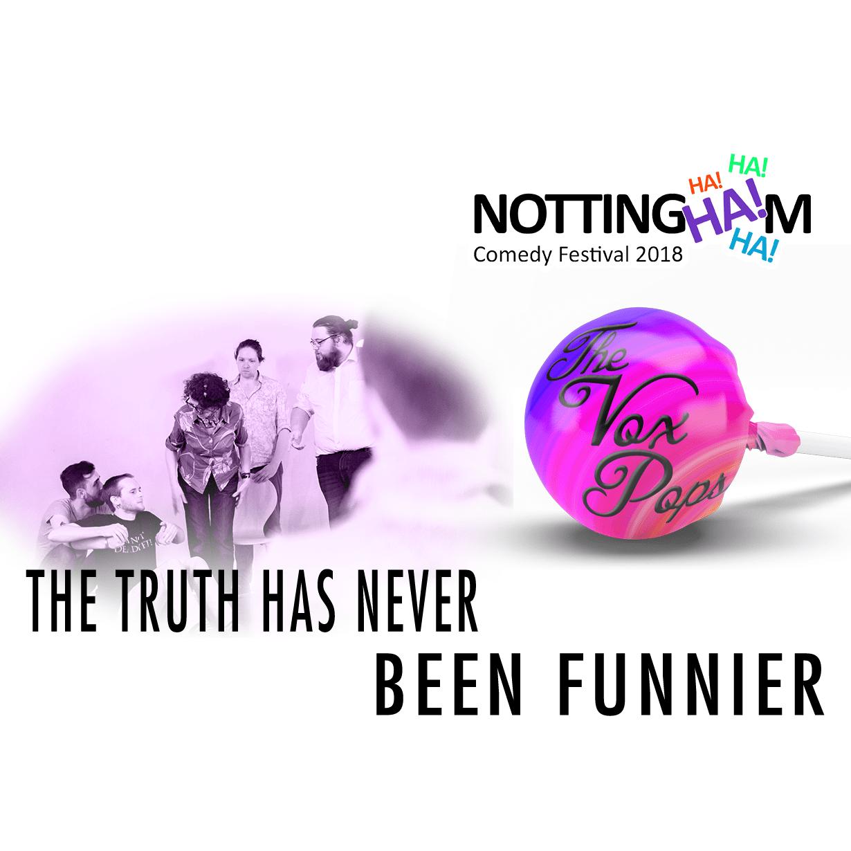 The Vox Pops at Nottingham Comedy Festival