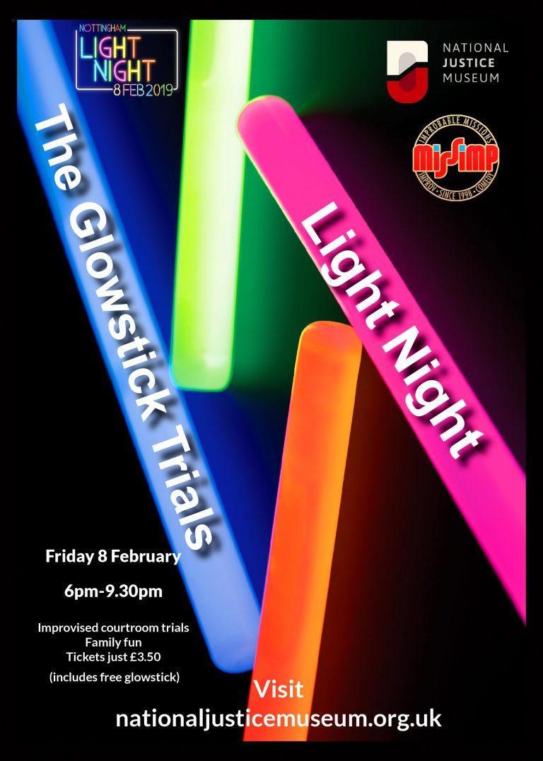 The Glowstick Trials Light Night 2019