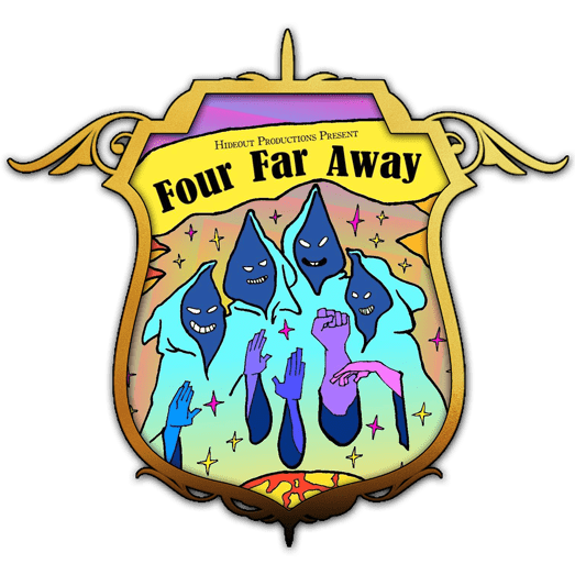 Four Far Away - shield
