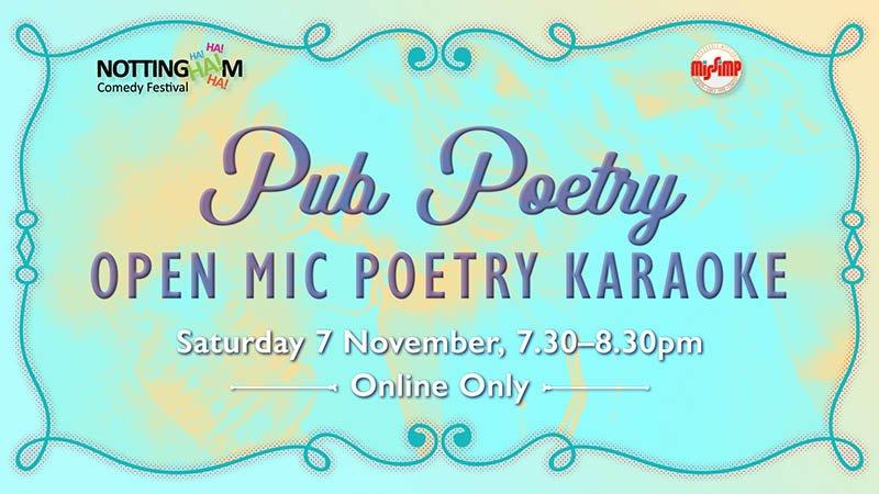 Pub Poetry, Open Mic Poetry Karaoke - NCF 2020