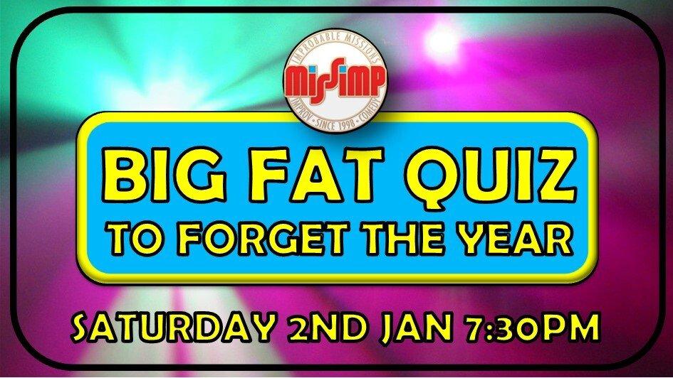 MissImp's Big Fat Quiz