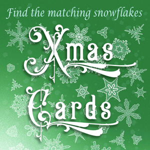 Unique Playable Christmas Cards by Duncan Carty
