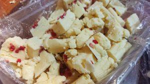 White Chocolate and Strawberry Truffles recipe