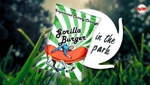 Gorilla Burger in the park