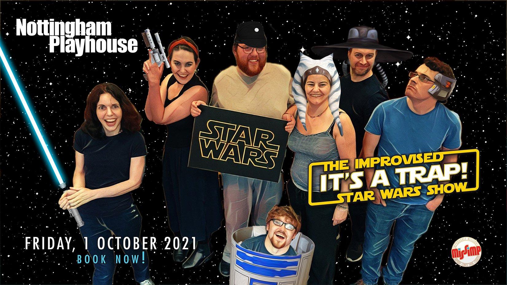 Star Wars cast rehearsal