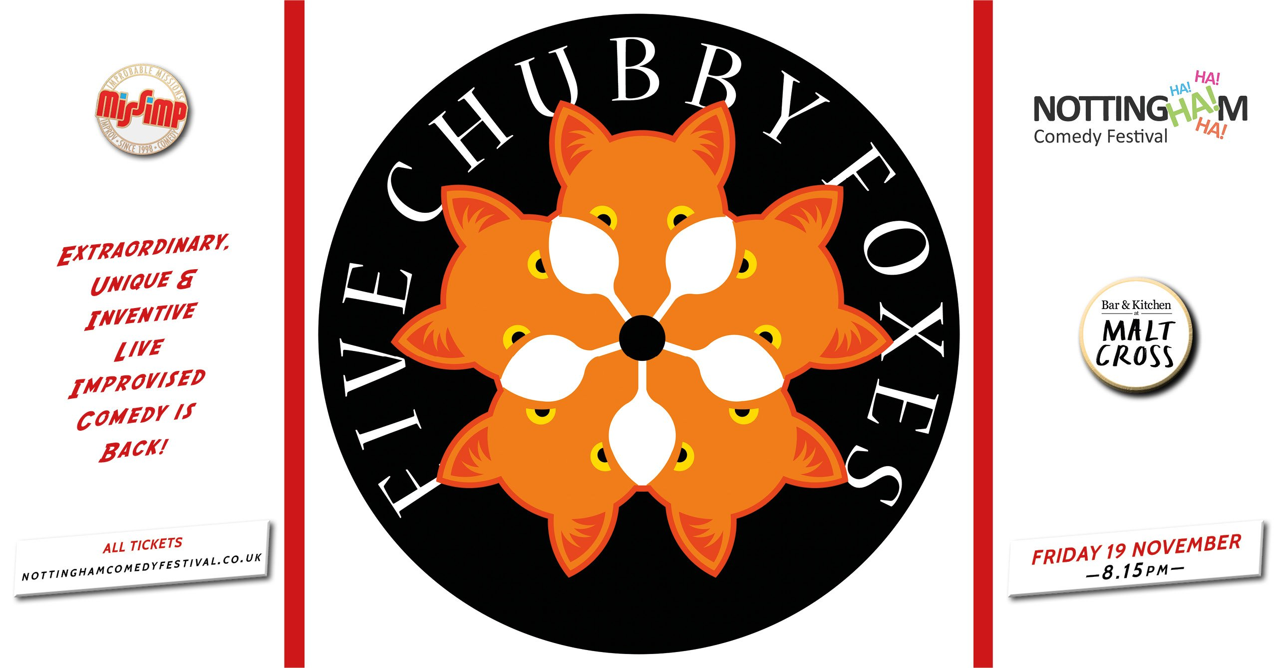NCF2021 Five Chubby Foxes