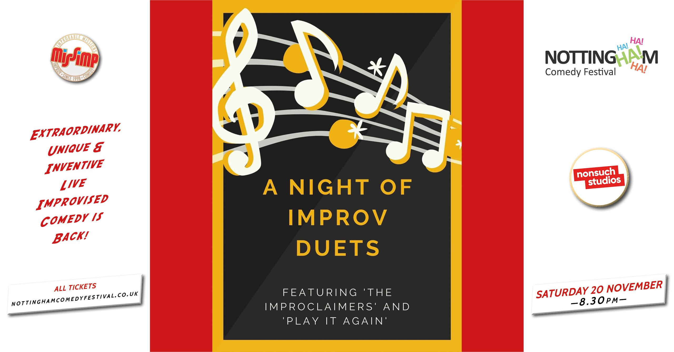 NCF2021 A Night of Improv Duets