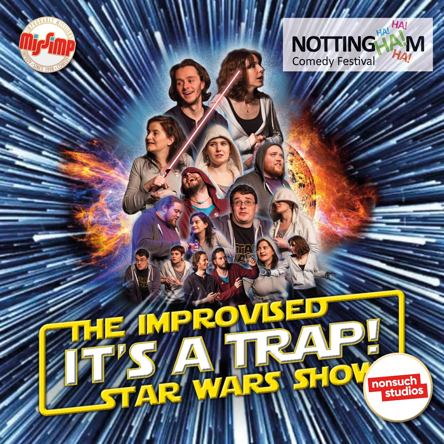 NCF2021 It's A Trap! The Improvised Star Wars Show
