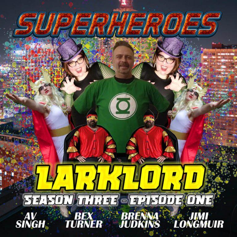 Superheroes poster v2