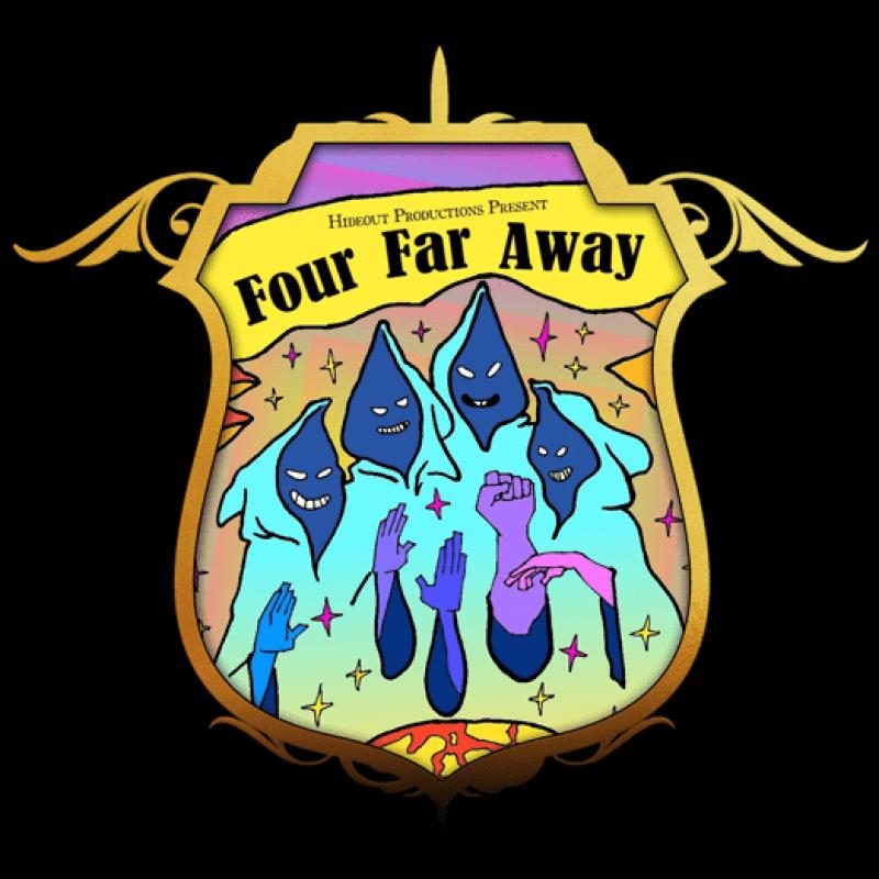 Four Far Away - shield